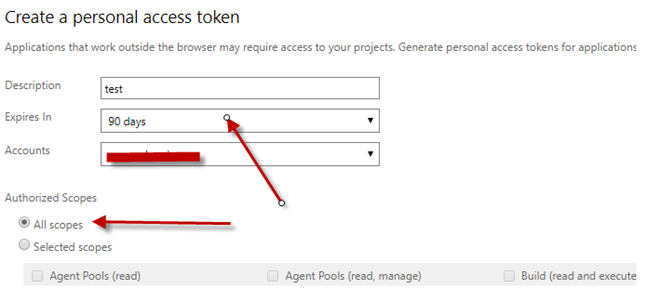 VSTS and build agent on Premise « Architect Microsoft Solution